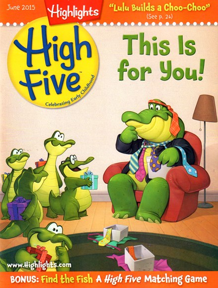 Highlights High Five Cover - 6/1/2015