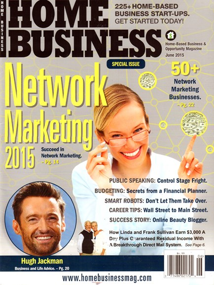 Home Business Magazine Cover - 6/1/2015