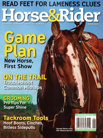 Horse & Rider Cover - 6/1/2015