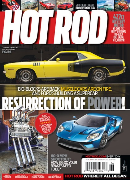 Hot Rod Cover - 6/1/2015