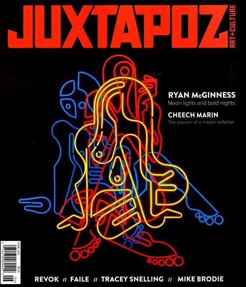 Juxtapoz Cover - 6/1/2015