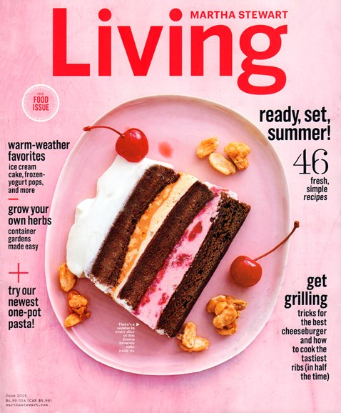 Martha Stewart Living Cover - 6/1/2015