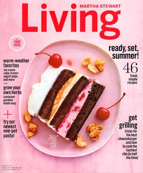 Martha Stewart Living Cover - 6/1/2015