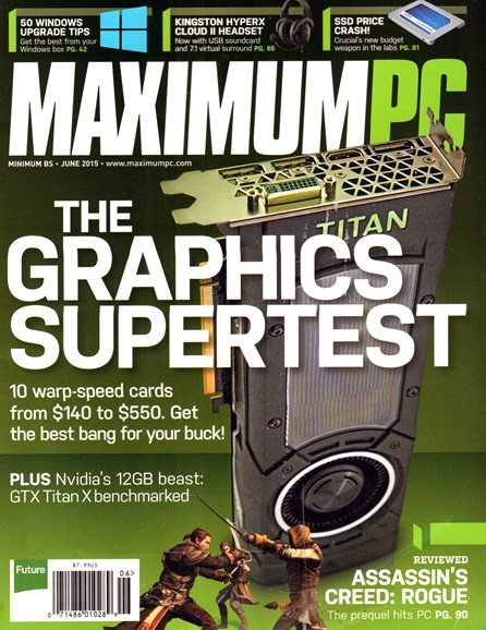 Maximum PC Cover - 6/1/2015