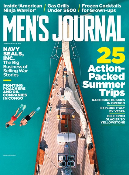 Men's Journal Cover - 6/1/2015