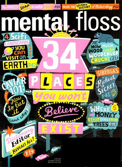 Mental Floss Cover - 6/1/2015