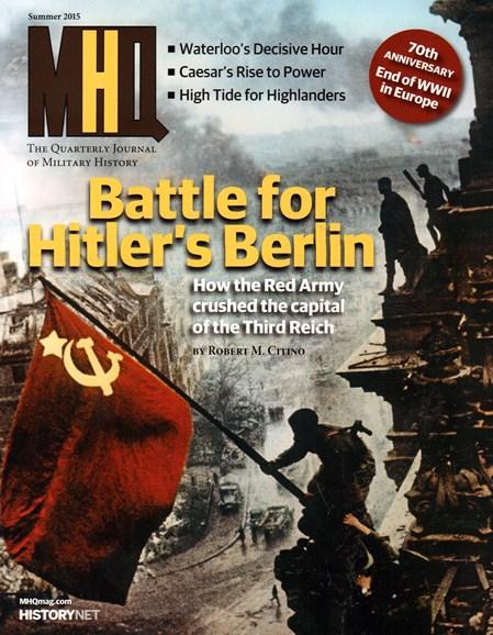 MHQ: Military History Quarterly Cover - 6/1/2015