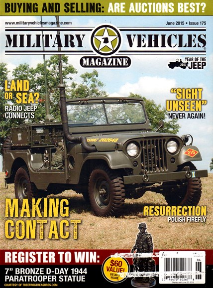 Military Vehicles Cover - 6/1/2015