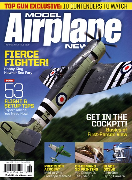 Model Airplane News Cover - 6/1/2015