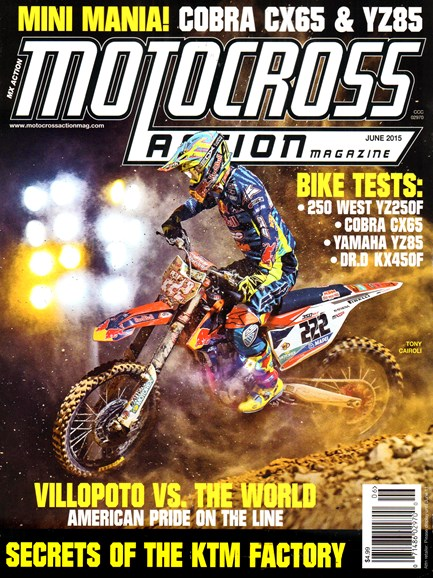 Motocross Action Cover - 6/1/2015