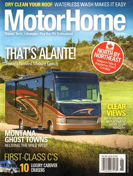 MotorHome Cover - 6/1/2015