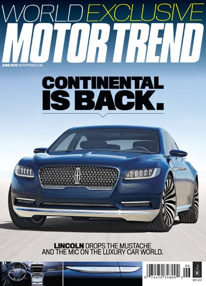 Motor Trend Cover - 6/1/2015