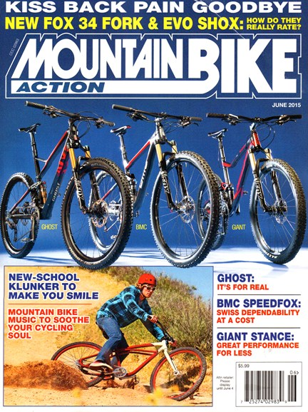 Mountain Bike Action Cover - 6/1/2015
