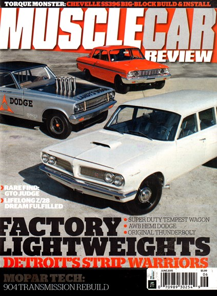 Muscle Car Review Cover - 6/1/2015