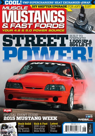 Muscle Mustangs & Fast Fords Cover - 6/1/2015