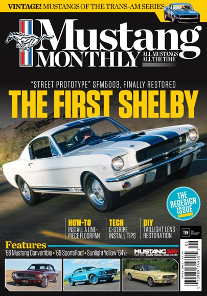 Mustang Monthly Cover - 6/1/2015