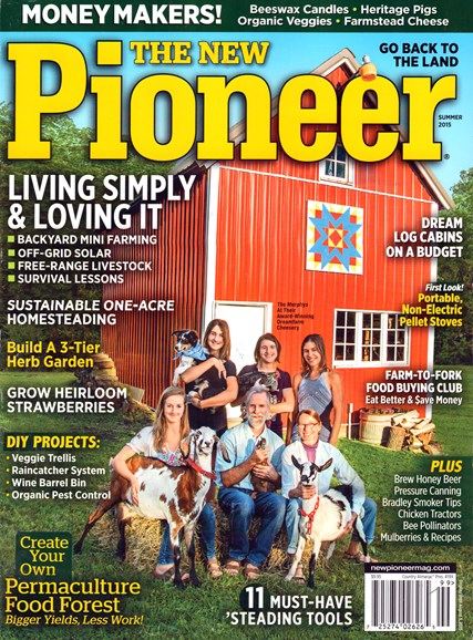The New Pioneer Cover - 6/1/2015
