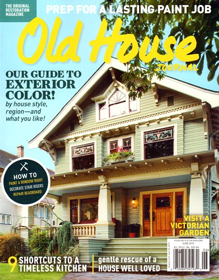 Old House Journal Cover - 6/1/2015