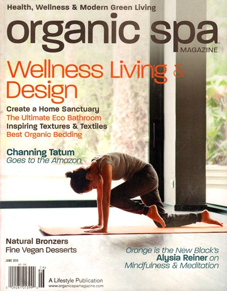 Organic Spa Cover - 6/1/2015