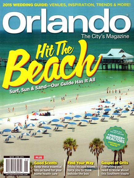 Orlando Magazine Cover - 6/1/2015