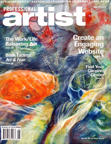 Professional Artist Cover - 6/1/2015