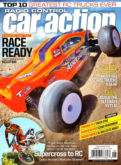 Radio Control Car Action Cover - 6/1/2015