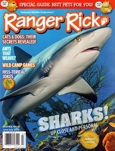 Ranger Rick Cover - 6/1/2015