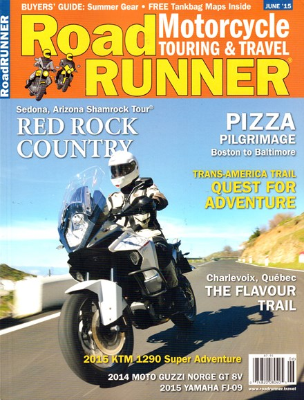 Road RUNNER Motorcycle & Touring Cover - 6/1/2015
