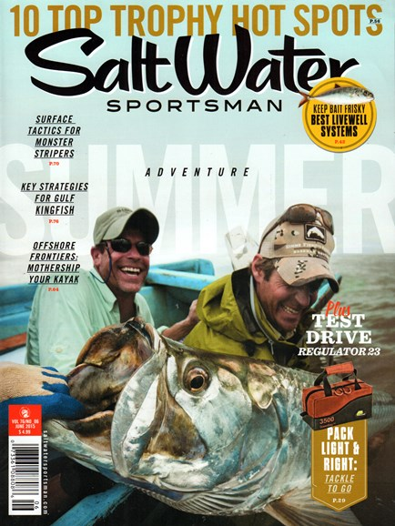 Salt Water Sportsman Cover - 6/1/2015