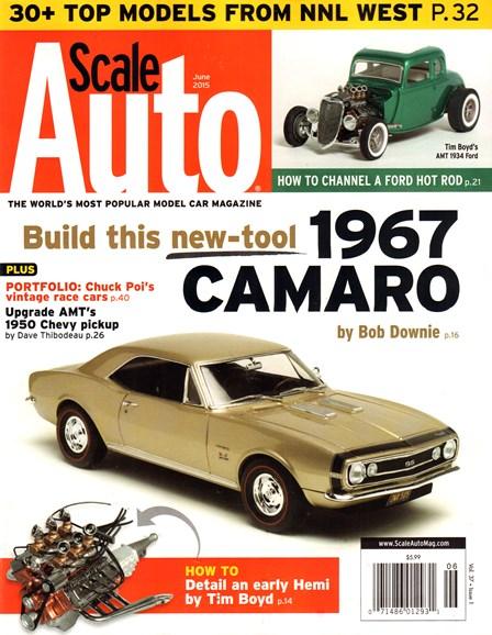 Scale Auto Magazine Cover - 6/1/2015