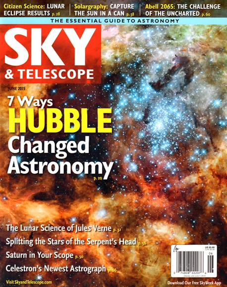 Sky & Telescope Cover - 6/1/2015