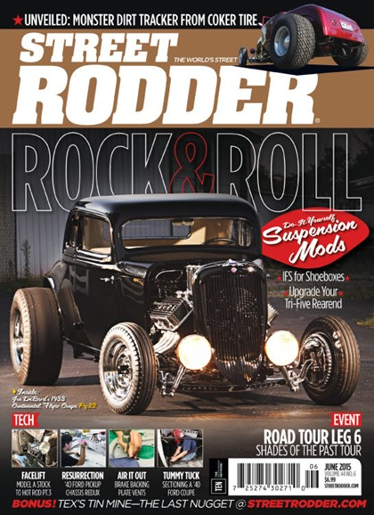 Street Rodder Cover - 6/1/2015