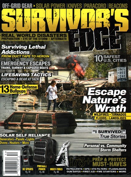 Survivor's Edge Cover - 6/1/2015