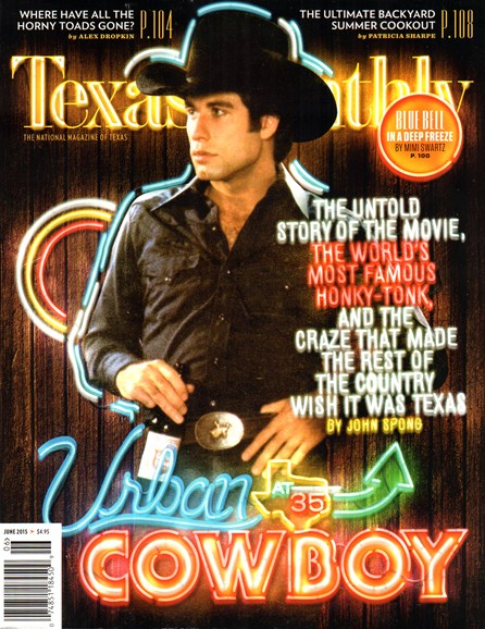Texas Monthly Cover - 6/1/2015