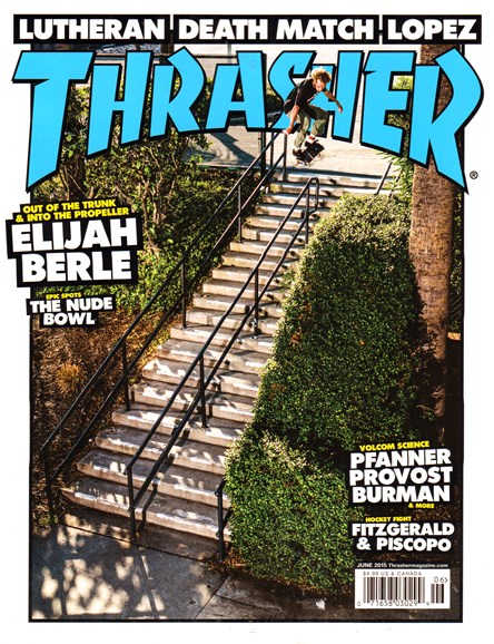 Thrasher Cover - 6/1/2015