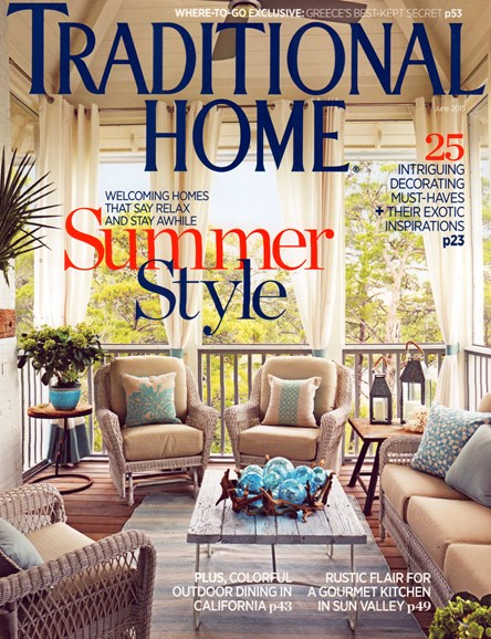 Traditional Home Cover - 6/1/2015