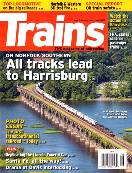 Trains Cover - 6/1/2015