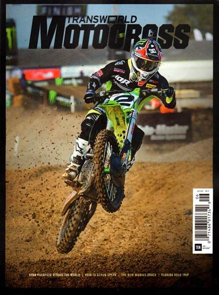 Transworld Motocross Cover - 6/1/2015