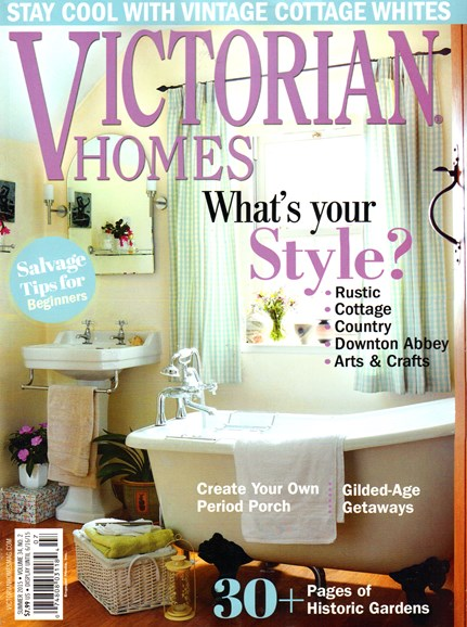 Victorian Homes Cover - 6/1/2015