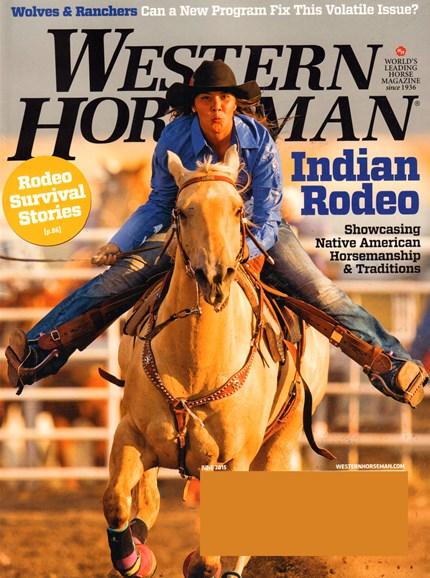 Western Horseman Cover - 6/1/2015