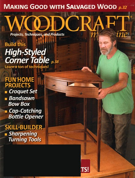 Woodcraft Cover - 6/1/2015
