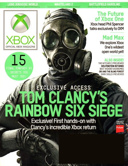 Official Xbox Magazine Cover - 6/1/2015