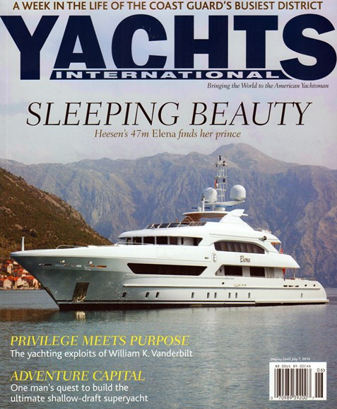 Yachts International Cover - 6/1/2015