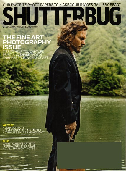 Shutterbug Cover - 6/1/2015