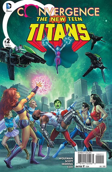 Teen Titans Cover - 7/1/2015