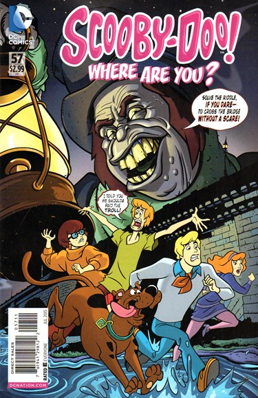 Scooby Doo, Where Are You? Cover - 7/1/2015