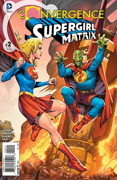 Supergirl Cover - 7/1/2015