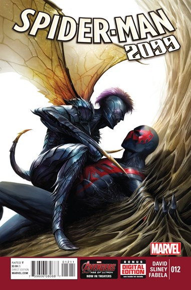 Spider-Man 2099 Cover - 7/1/2015
