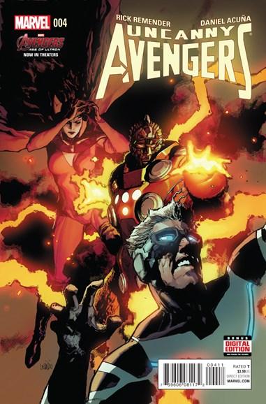 Uncanny Avengers Cover - 6/1/2015