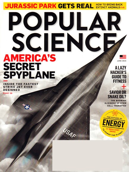 Popular Science Cover - 6/1/2015